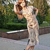 """Одежда ручной работы. Ярмарка Мастеров - ручная работа Платье """"Розовый шиповник"""".. Handmade."""