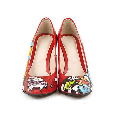"""Обувь ручной работы. Ярмарка Мастеров - ручная работа Туфли лодочки """"Этно Алиса"""". Handmade."""
