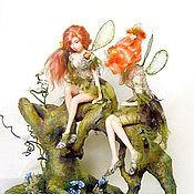 Куклы и игрушки ручной работы. Ярмарка Мастеров - ручная работа В заколдованном лесу. Handmade.