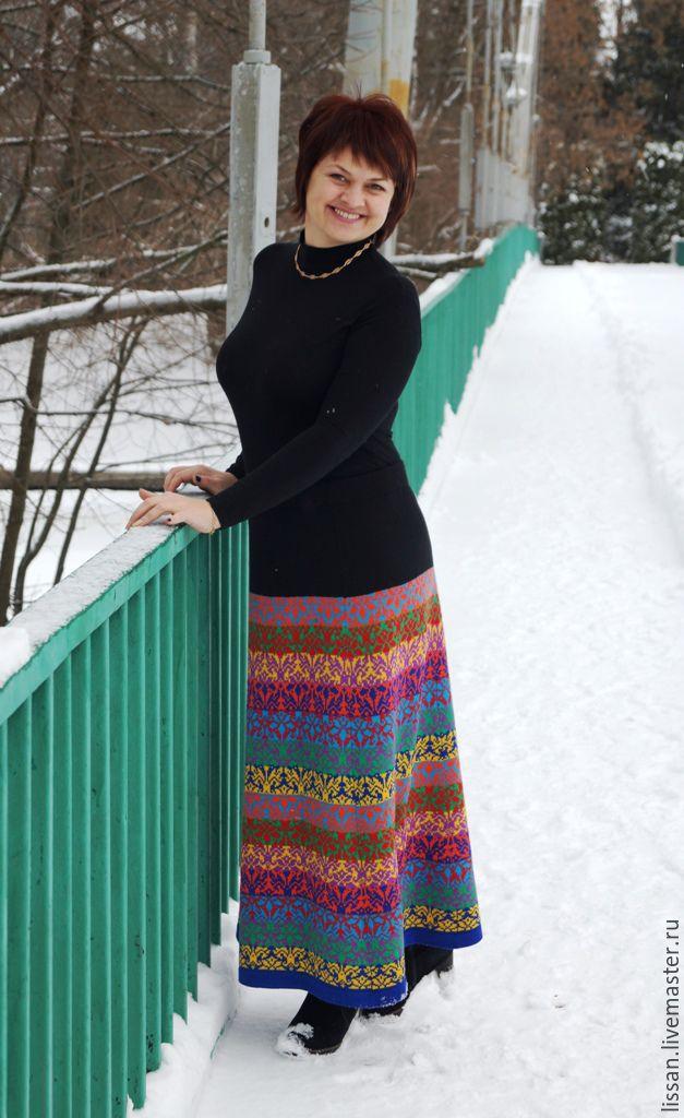 """Юбка """"Семицветик"""", Юбки, Мичуринск,  Фото №1"""