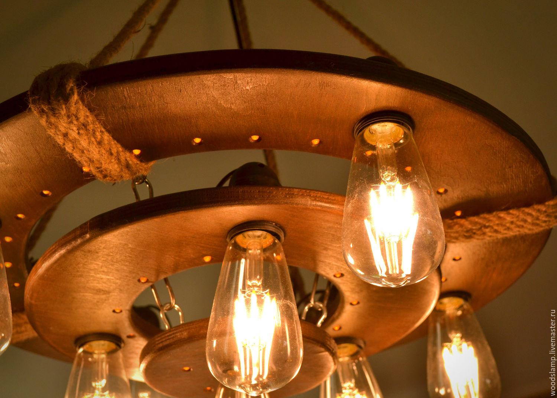 Люстра из ламп эдисона своими руками