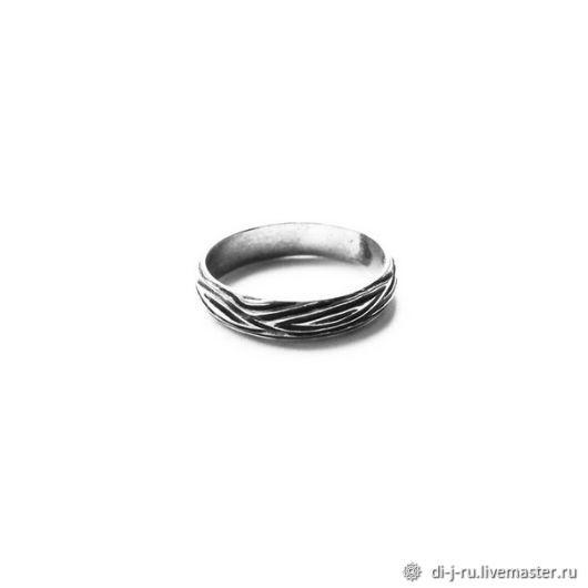 Кольца ручной работы. Ярмарка Мастеров - ручная работа. Купить Серебряное кольцо с чернением, размер по запросу. Handmade. Серебро