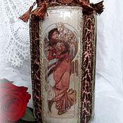 Для дома и интерьера ручной работы. Ярмарка Мастеров - ручная работа Интерьерная ваза для цветов Дивы. Handmade.