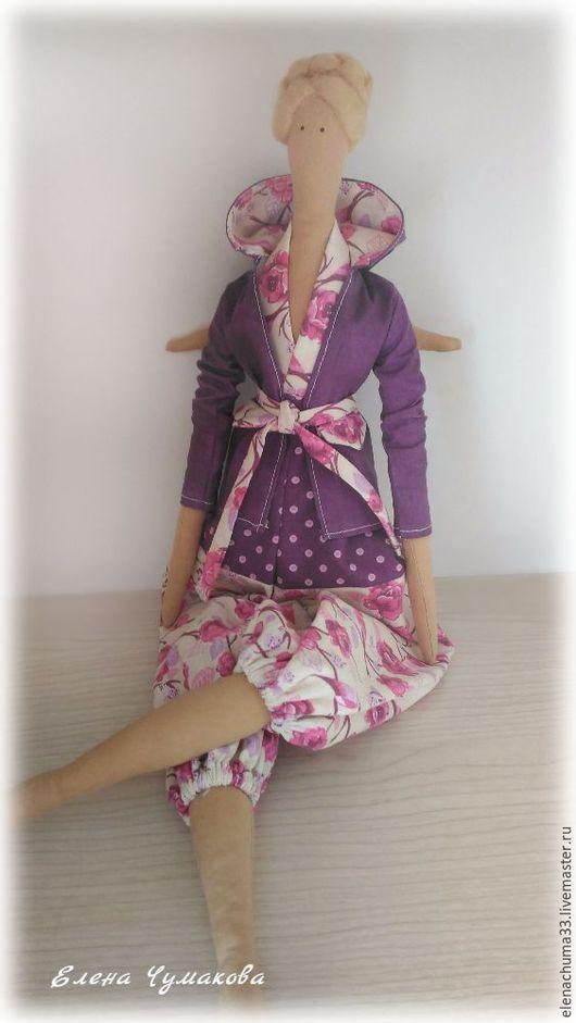 Куклы Тильды ручной работы. Ярмарка Мастеров - ручная работа. Купить Тильда Весенний ангел. Handmade. Сиреневый, тильда ангел