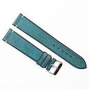 Украшения handmade. Livemaster - original item Azure Genuine leather strap. Handmade.