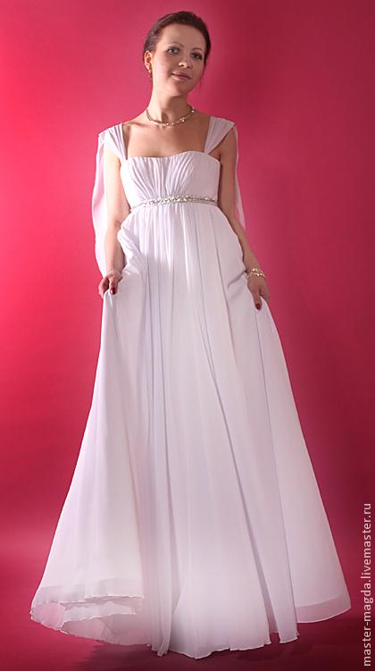 Греческое платье с корсетом