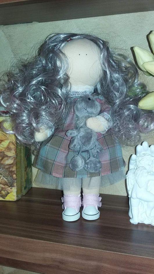 Куклы Тильды ручной работы. Ярмарка Мастеров - ручная работа. Купить Кукла Снежка, кукла текстильная. Handmade. Бежевый