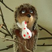 Куклы и игрушки ручной работы. Ярмарка Мастеров - ручная работа Ежик в тумане. Handmade.