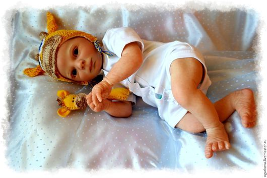 Куклы-младенцы и reborn ручной работы. Ярмарка Мастеров - ручная работа. Купить Кукла реборн  Realborn Kase Awake. Handmade.