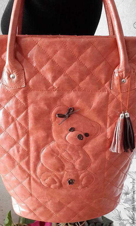 """Женские сумки ручной работы. Ярмарка Мастеров - ручная работа. Купить Кожаная сумка """"Кроха"""". Handmade. Женская сумка"""