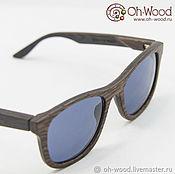 """Очки ручной работы. Ярмарка Мастеров - ручная работа Солнцезащитные очки из дерева """"Wayfarer"""" Венге. Handmade."""