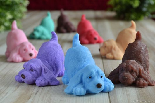 "Soap handmade. Livemaster - handmade. Buy Soap ""Puppy"" №1.Soap"