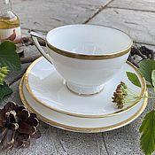 Винтаж handmade. Livemaster - original item Empire. Tea trio. Minton, England. Handmade.