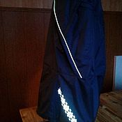 Skirts handmade. Livemaster - original item Reflective skirt with built in pants. Handmade.
