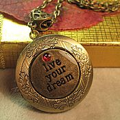 Украшения handmade. Livemaster - original item Medallion