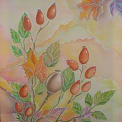 """Картины и панно ручной работы. Ярмарка Мастеров - ручная работа Картина""""Осенняя сказка"""". Handmade."""
