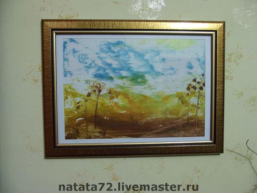 Abstract Art handmade. Livemaster - handmade. Buy Africa.Paintings and panels, wax, encaustic, gift, cardboard, wax crayons