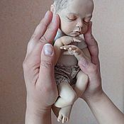 """Куклы и игрушки ручной работы. Ярмарка Мастеров - ручная работа куколка из пластики """" Алина"""". Handmade."""