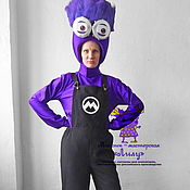Одежда handmade. Livemaster - original item Angry Minion. Animator-actor suit. Handmade.