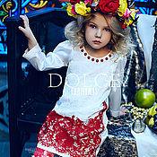 Работы для детей, ручной работы. Ярмарка Мастеров - ручная работа Платье из коллекции Dolce Christmas + жилеточка. Handmade.