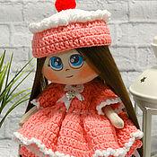 Куклы и игрушки ручной работы. Ярмарка Мастеров - ручная работа Куколка Пироженка. Handmade.