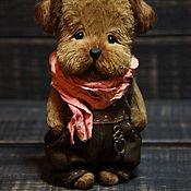 Куклы и игрушки handmade. Livemaster - original item Teddy Bears: Teddy Animals: Little puppy Teddy Tim. Handmade.