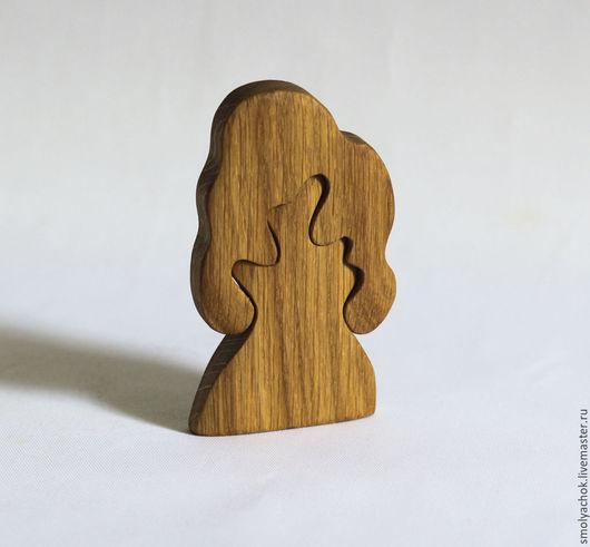 Развивающие игрушки ручной работы. Ярмарка Мастеров - ручная работа. Купить Дерево Дуб нецветное. Деревянная развивающая игрушка. Пазл.. Handmade.