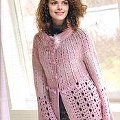 Одежда handmade. Livemaster - original item Author`s jacket from Alpaca with silk. Handmade.