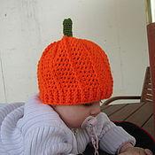 Работы для детей, ручной работы. Ярмарка Мастеров - ручная работа Шапочка Orange. Handmade.