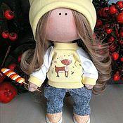 Тыквоголовка ручной работы. Ярмарка Мастеров - ручная работа Тыквоголовка: интерьерная кукла ручной работы. Handmade.