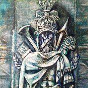 Картины и панно ручной работы. Ярмарка Мастеров - ручная работа Доспехи рыцаря. Handmade.