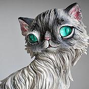 Подарки к праздникам handmade. Livemaster - original item Polina Nevskaya masquerade cat. Handmade.