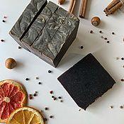 Мыло ручной работы. Ярмарка Мастеров - ручная работа Натуральное мыло «Горький шоколад». Handmade.
