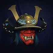 Субкультуры handmade. Livemaster - original item Helmet: Kabuto. Handmade.