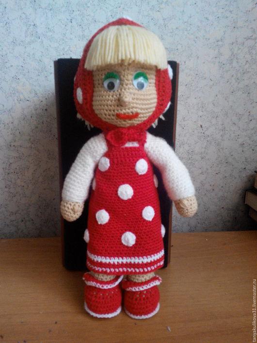 Сказочные персонажи ручной работы. Ярмарка Мастеров - ручная работа. Купить Кукла Маша. Handmade. Бежевый, мягкая игрушка