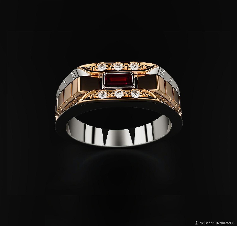 Ring: Elegant Male Ring, Rings, Tolyatti,  Фото №1