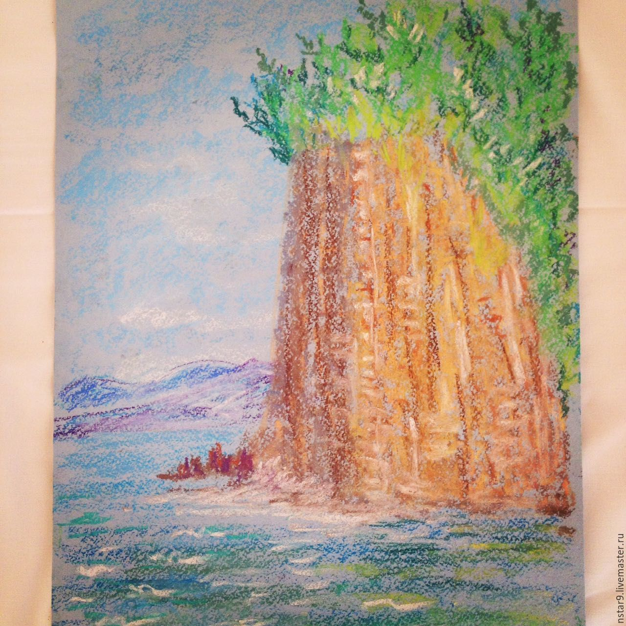 Rock(pastel), Pictures, Moscow,  Фото №1