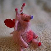 Куклы и игрушки ручной работы. Ярмарка Мастеров - ручная работа Мотыльковый слон Гектор. Handmade.