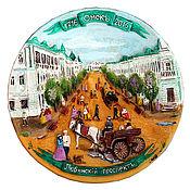 Посуда handmade. Livemaster - original item The souvenir plate