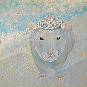 Картины и панно ручной работы. Ярмарка Мастеров - ручная работа Картина. Маленькая принцесса.. Handmade.