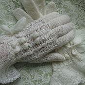 Аксессуары handmade. Livemaster - original item gloves GENTLE. Handmade.