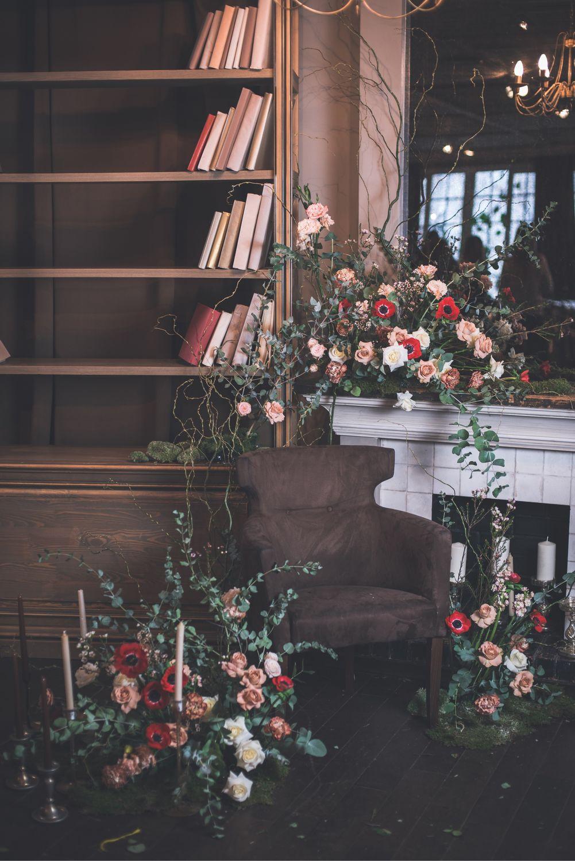 Оформление ресторана Terrine, Цветы, Москва, Фото №1