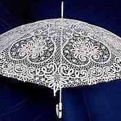 Аксессуары ручной работы. Ярмарка Мастеров - ручная работа Кружевной зонт. Handmade.