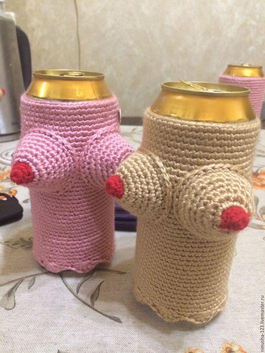 Подарки для мужчин, ручной работы. Ярмарка Мастеров - ручная работа. Купить Чехол на пивную банку/бутылку. Handmade. Подарок
