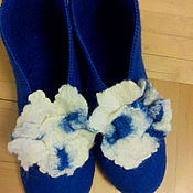 Обувь ручной работы. Ярмарка Мастеров - ручная работа Домашние тапочки ручной работы. Handmade.