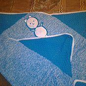 Для дома и интерьера ручной работы. Ярмарка Мастеров - ручная работа Плед детский ``Мишутка``. Handmade.