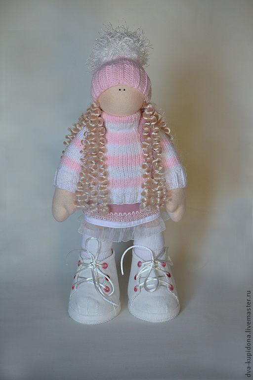 Коллекционные куклы ручной работы. Ярмарка Мастеров - ручная работа. Купить Даринка!. Handmade. Кукла, бело-розовый