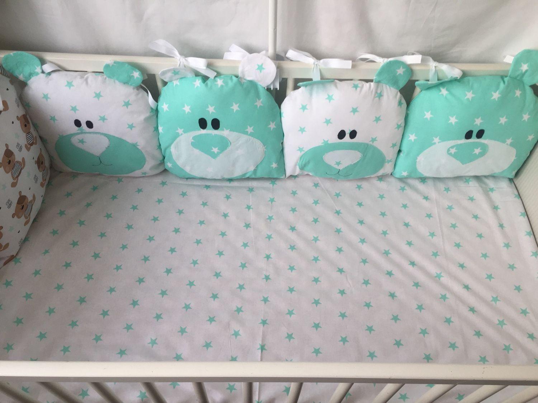 Комплекты в кроватку для новорожденных своими руками выкройки фото