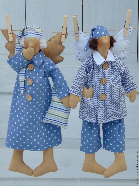 """Tilda. Интерьерная кукла """"Сонный Ангел"""", Куклы Тильда, Россошь,  Фото №1"""