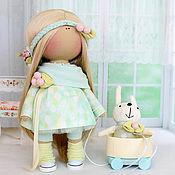 """Куклы и игрушки ручной работы. Ярмарка Мастеров - ручная работа Текстильная интерьерная  кукла """"Неженка"""". Handmade."""